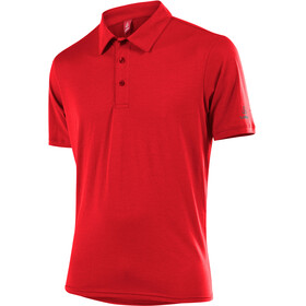 Löffler Transtex Single CF t-shirt Heren rood
